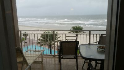 Photo for Recently remodeled top floor two bedroom oceanfront granite countertops, stainless steel appliances.