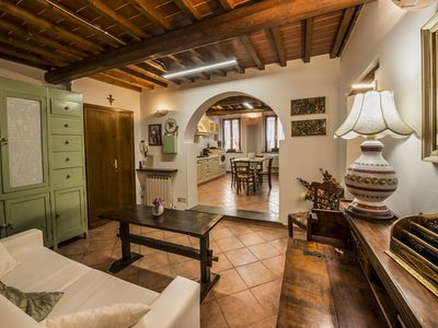 Photo for CASA SABRINA - A welcoming and comfortable oasis in the historic center of Tuscany