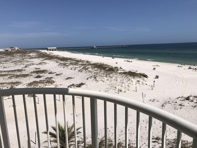 Photo for NEW LISTING! RENOVATED EAST CORNER DIRECT GULF/2 BEDROOM & 2 BATH/CLOSE 2 PIER