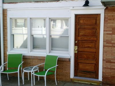 Photo for Newly Renovated First Floor Apartment, Close to Beach and Boardwalk, Sleeps 4