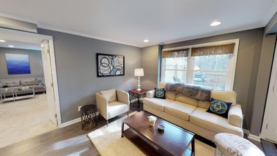 Photo for Bright and Charming Basement Apartment near Downtown Roswell