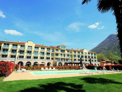 Photo for Holiday resort in Porlezza, on the shore of the Lake of Lugano.