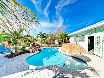Photo for Private Pool, Cabana & Game Room - Walk Minutes to Beach, Shops, Dining