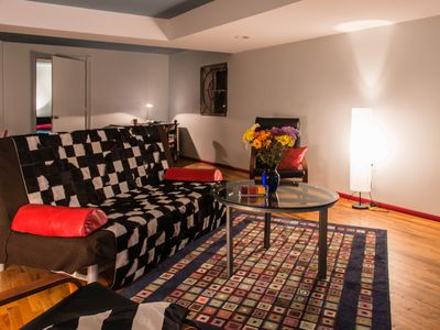 Photo for 1 Br Artsy Urban Loft 1.1 Mi to Downtown Pittsburgh, Scenic City View, Garage