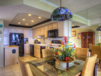 Photo for Spacious Oceanfront Condo with Tropical Decor  **PLEASE NOTE CONSTRUCTION GOING ON AT PROPERTY**