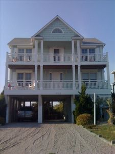 Photo for Nice 2nd Row 4 BR/3 Bath Home -Waterway, Marsh,Ocean View