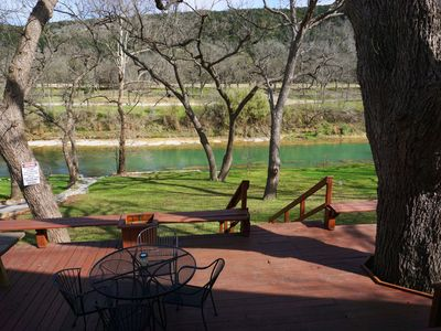 Photo for Perfect Spot on the Guadalupe River! Sleep up to 10 and Float all day!