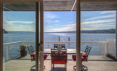 Photo for Captain's House- Luxury Beachfront Home. 2 Levels for group fun or privacy