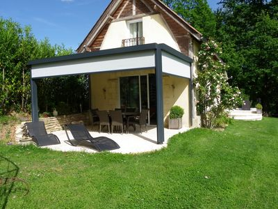 Photo for Barn with swimming pool, 6 people, 3 bedrooms, 2 bathrooms near Sarlat