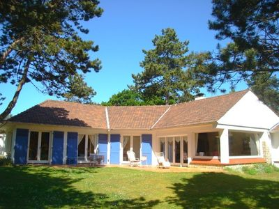 Photo for Charming Villa between Dunes, Forest and Sea
