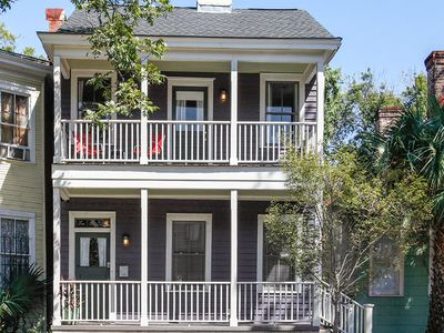 Photo for Historic 4BR w/ Fenced Yard in Victorian District - Walk to Dining & Parks