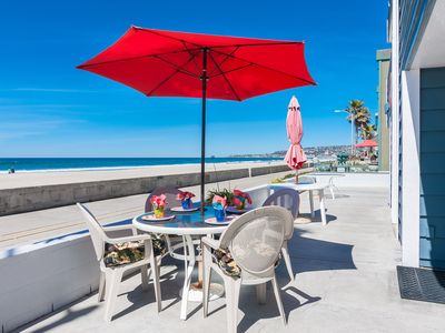 Photo for Grand Opening!!  Beachfront Mission Beach Condo w/Panoramic Beach & Ocean Views!