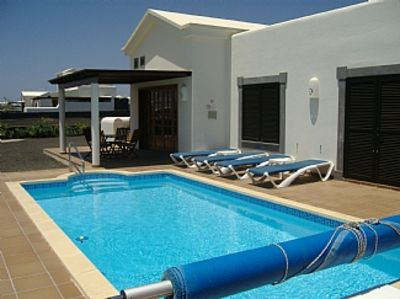 Photo for Outstanding Detached Villa with Private Heated Swimming Pool and free wifi