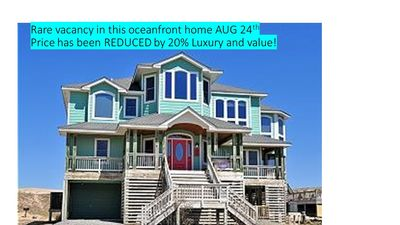 Photo for AUG 24 open and reduced 20%. GORGEOUS Oceanfront with SO MANY AMENITIES!