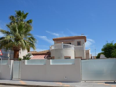 Photo for Independent chalet, in the tower, very close to the beach