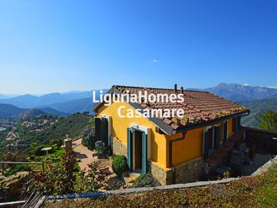Photo for Eagle's Nest, idyllic country house in Liguria near the sea with mountain view