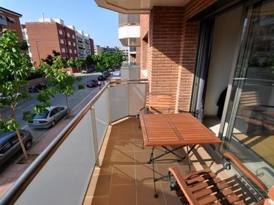 "Photo for Apartment a short walk away (433 m) from the ""Platja de Lloret"" in Lloret de Mar with Internet, Air conditioning, Lift, Balcony (717536)"