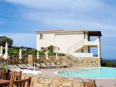 Photo for Apartment Ea Bianca (BSA210) in Baia Sardinia - 2 persons, 1 bedrooms