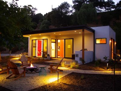 Photo for A Super High End Luxe Zen Ojai Guest House. The ultimate Modern/Boho retreat