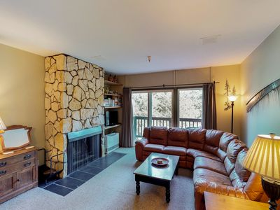 Photo for NEW LISTING! Condo with mountain views near skiing, biking, and hiking