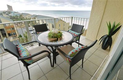 Serenity - As you're sitting out on the balcony of Regency 624 savoring a glass of fine wine, you may have to pinch yourself to ensure your surroundings aren't a dream!