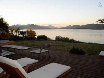 Photo for The most Beautiful Lakefront House in Bariloche with amazing views and beach!