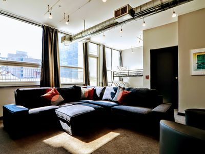 Photo for Convention Center Penthouse, Great for Large Group, Sleeps 15, Dual Decks