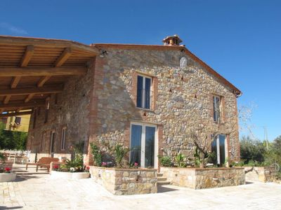 Photo for 7 bedroom Villa, sleeps 14 in Capannori with Pool, Air Con and WiFi