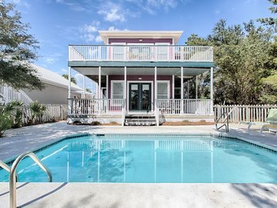 Photo for Beautiful NEW home! Private Pool!! Close to Seaside!!