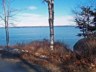 Photo for Bar Harbor, Maine immaculate log cape near the ocean and Acadia that sleeps 12