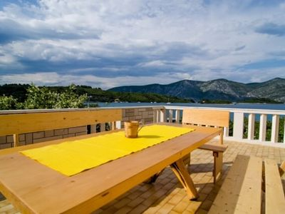 Photo for 3BR Apartment Vacation Rental in Raciste, Korcula