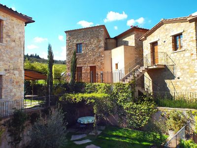 Photo for Beautiful Apartment In Chianti With Panoramic Swimming Pool