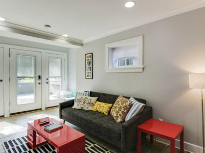 Photo for D.C. Peaceful 2 BD w/high ceilings & soaking tub!
