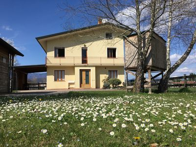 """Photo for """"Mammuthaus"""" a large house with a garden in the Prosecco DOCG area"""
