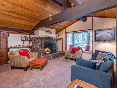 Photo for Charming 3BR/2BA with Deck & BBQ, Drive to King's Beach & Ski Resorts