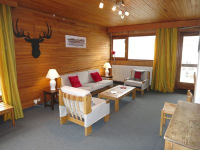 Photo for SPACIOUS 3 ROOMS NEAR SKIING WITH BEAUTIFUL LAKE VIEW SUD AND EAST FACING - COMBE FOLLE 2B