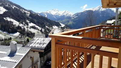 Photo for Rent New apartment 64m2 in Chalet in the village of Hauteluce