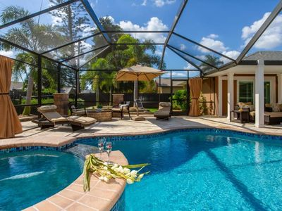 Photo for SE Cape Coral | Off Water | Great neighborhood, salt water pool, fenced yard with much privacy