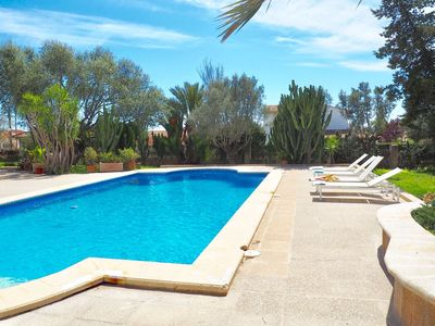 Photo for Holidays in the Mediterranean for 8 pax with pool in Sa Rápita