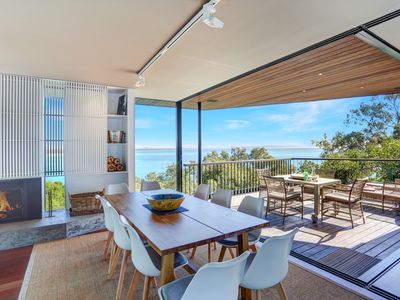 Photo for Luxurious,  Beach House, Ocean Views, Private Walkway Down to Hastings Street