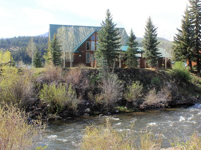 Photo for Hidden River Lodge, Beautiful And Spacious River Front Home, Sleeps 15