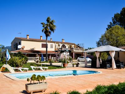 Photo for Large garden & pool – Villa Es Figarelet
