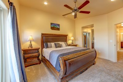 Master Bed Room with 2 closets and master bath