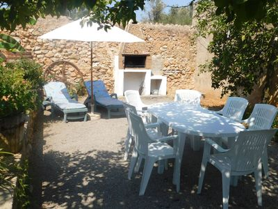 Photo for Authentic Spanish furnishings, spacious finca 2 km for San Miguel with barbecue