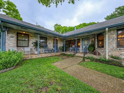 Photo for Storied home close to Main Street w/ covered porch and Texas charm!