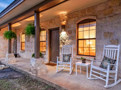 Photo for Hill Country Retreat - Private Hot Tub - One Mile From Downtown Dripping Springs