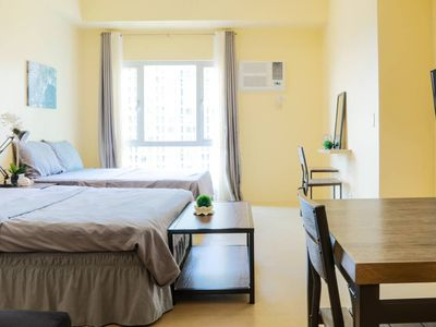 Photo for 1BR Studio Vacation Rental in Makati, NCR