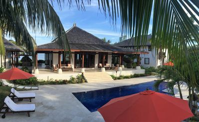 Photo for Exotic Beachfront Home ~ Exclusive Windermere Island, Eleuthera