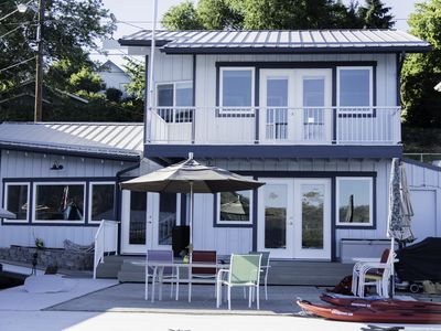 Photo for Lakeside Home with Private Dock and  Buoy in Downtown Manson