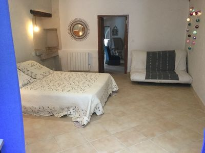 Photo for Renovated apartment at the foot of the Cevennes
